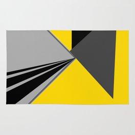 TRIANGULATION Yellow Rug