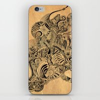 labyrinth iPhone & iPod Skins featuring Labyrinth by DuckyB
