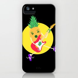 Punk Ananas iPhone Case