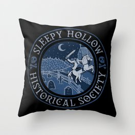 Sleepy Hollow Historical Society Throw Pillow