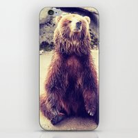 teddy bear iPhone & iPod Skins featuring Teddy? by Gato Gris Games