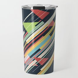 Retro Geo Travel Mug