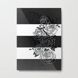 Inverted Roses Metal Print