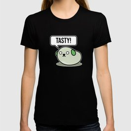 Tasty Beans Green Love Soybean Cartoony Anime Gift T-shirt