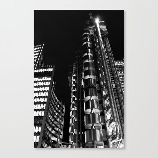 Lloyds of London Canvas Print