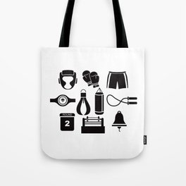 All The Things You Need To Become A Great Boxer Tote Bag