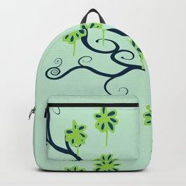 Handbag Heave Blues - detail Backpack