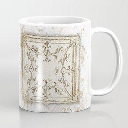 Vintage Tin Sketch Coffee Mug
