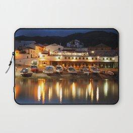 Harbour at dusk Laptop Sleeve