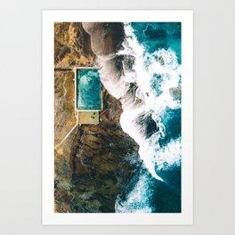 Mona Vale Rock Pool Art Print