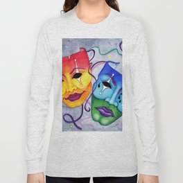 Comedy and Tragedy Long Sleeve T-shirt