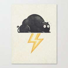 The Thunder Cat Canvas Print
