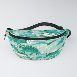 Dino world | blue Fanny Pack