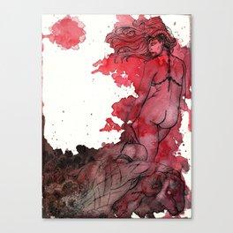 Demoness Canvas Print