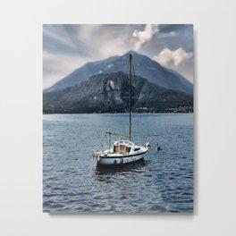 Rock Me On The Water Metal Print