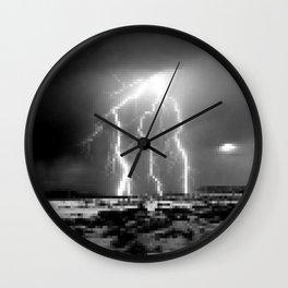 Raging-Brightness Lightning Wall Clock