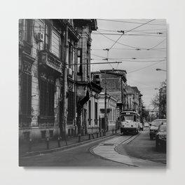 City tram Metal Print