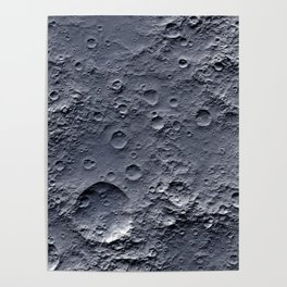 Moon Surface Poster
