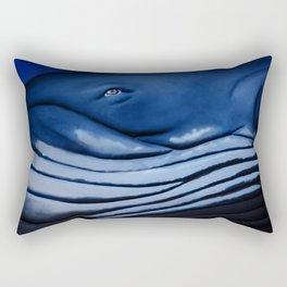 blue giant of the ocean Rectangular Pillow