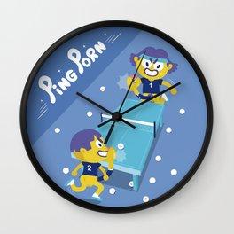 Chuchuporn-Ping Porn Wall Clock