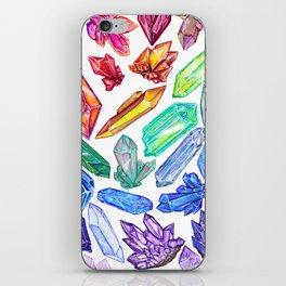 Crystal Rainbow Pride iPhone Skin