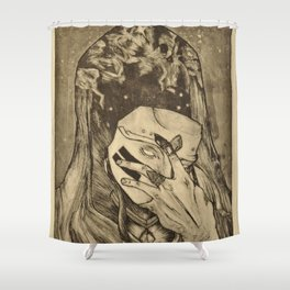 Cosmic Reveal Shower Curtain