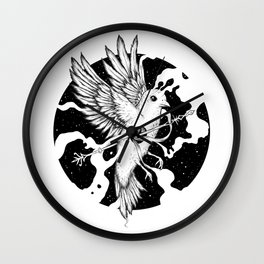 Spilled Existence Wall Clock