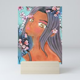 Cherry Blossom Klip Mini Art Print