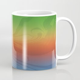Bright colors inspired by the 4 Elements Coffee Mug