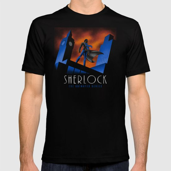 Sherlock Cartoon T-shirt