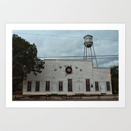 Gruene Hall Outside Art Print