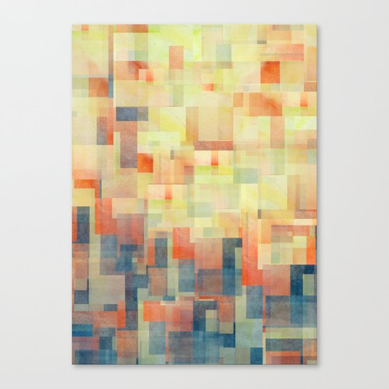 Cubism Dream (Brush Fire Remix) Canvas Print