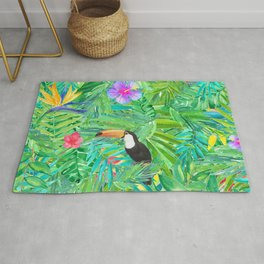 Foret tropicale Rug