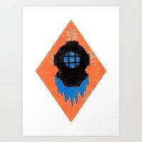 Drowned Art Print