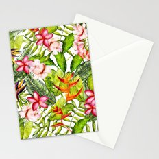 My Aloha Tropical Flower Hibiscus Garden on #Society6 Stationery Cards
