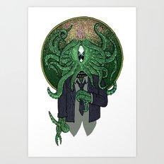 Eye of Cthulhu Art Print