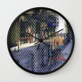 As rarest grit enters no tears ever rinse it away. Wall Clock