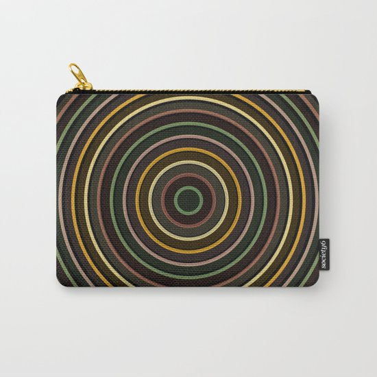 Colorful circle IV Carry-All Pouch