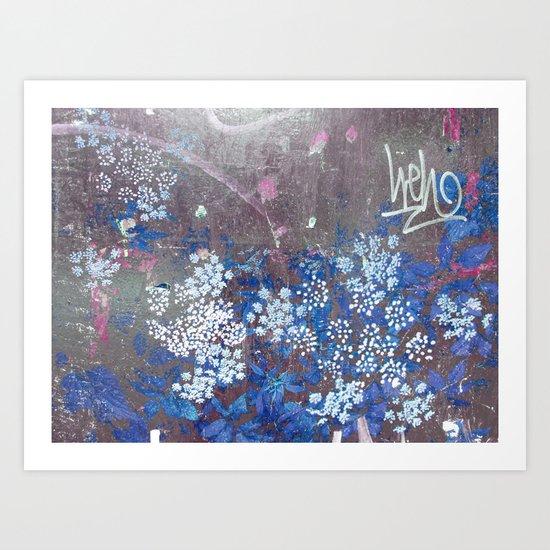 FlowerPower Fantasy 9-B Art Print