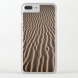 Lines in the sand - Sahara Clear iPhone Case