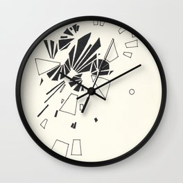 Composition #2 2016 Wall Clock
