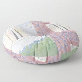 Rene Magritte L'etate de Veille Floor Pillow