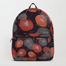 Night in the Poppy Field Backpack