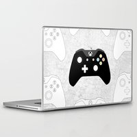 xbox Laptop & iPad Skins featuring Xbox One Controller by Tino-George