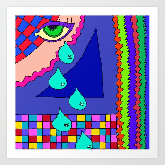 Abstract 34 Art Print