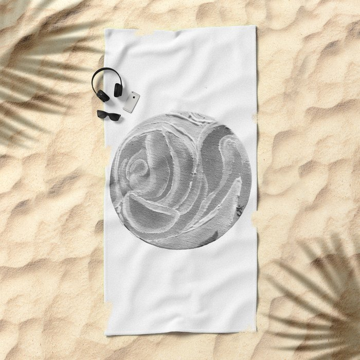 Sunday Memories of Roses Beach Towel