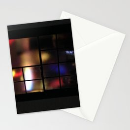Muffled Lights Stationery Cards
