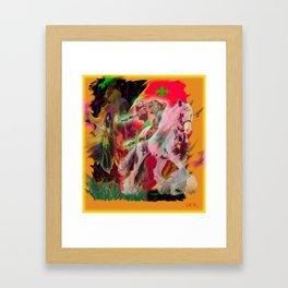 """ King Louis Midnight Dream "" Framed Art Print"