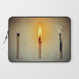 three mathes in line Laptop Sleeve