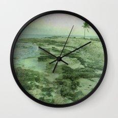 Tip of Paradise Wall Clock